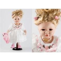Коллекционная кукла Полина