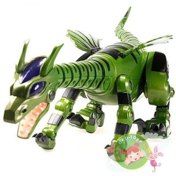 Радиоуправляемый робот-динозавр Огненный Дракон