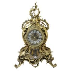 Часы из бронзы Ласу с маятником