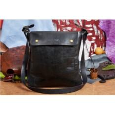 Черная дизайнерская сумка ручной работы коллекции QZ