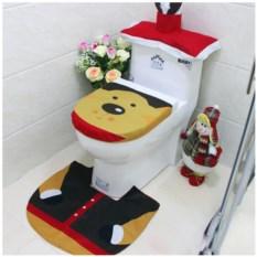 Набор для украшения туалета Новогодний олень
