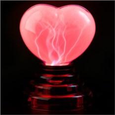 Плазменный светильник Огненное Сердце