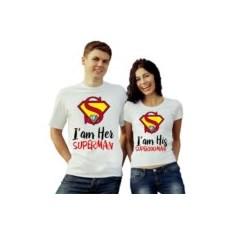 Парные футболки Я ее супермен, я его супервумен