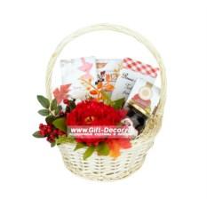 Подарочная корзина Красная осень