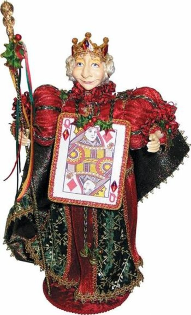 Новогоднее украшение Королева