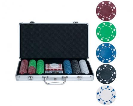 Набор для покера на 300 фишек без номинала Premium