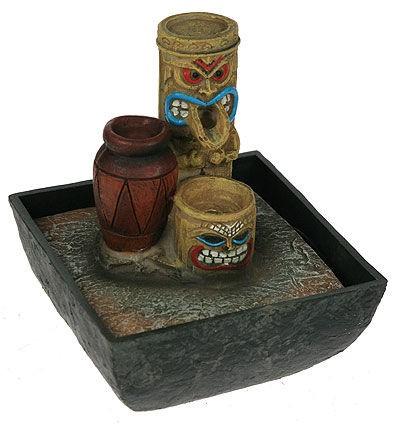 Фонтан декоративный с подсветкой Африканские мотивы