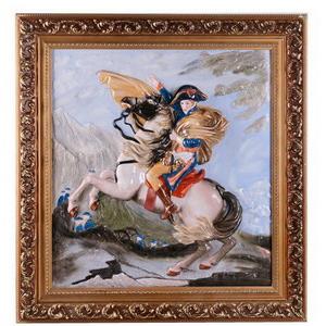 Панно фарфоровое «Наполеон»