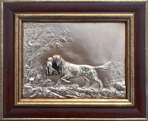 Картина Собака с зайцем