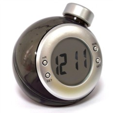 Часы работающие на воде (Черные) большие