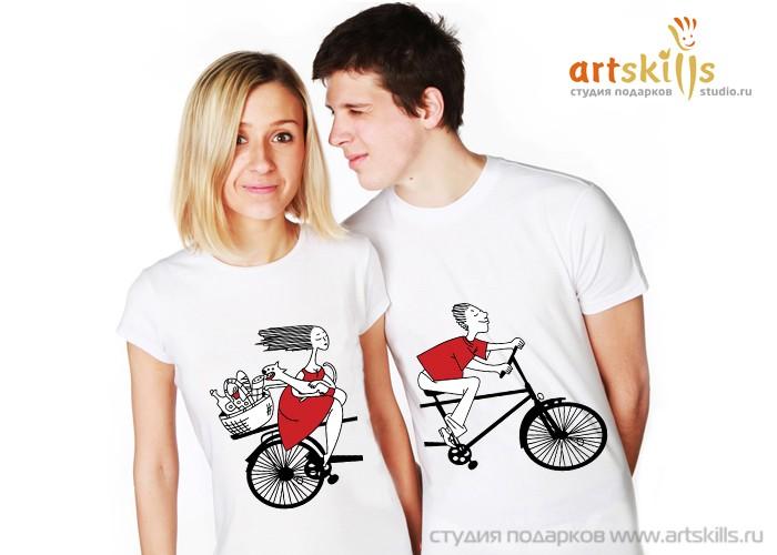 Парные футболки Пикник