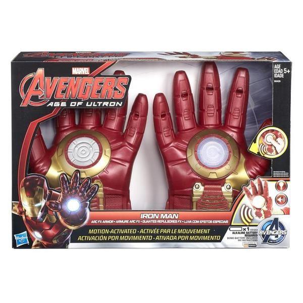 Интерактивные перчатки Железного Человека Avengers (Hasbro)