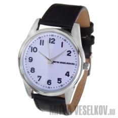 Часы Mitya Veselkov Правильные цифры на белом