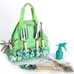 Набор садовых инструментов в сумке
