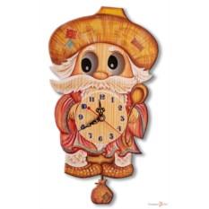 Часы настенные с маятником Домовой