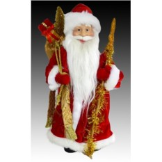 Фигура Дедушка мороз в красной шубе