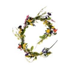 Декоративное украшение Гирлянда из весенних цветов