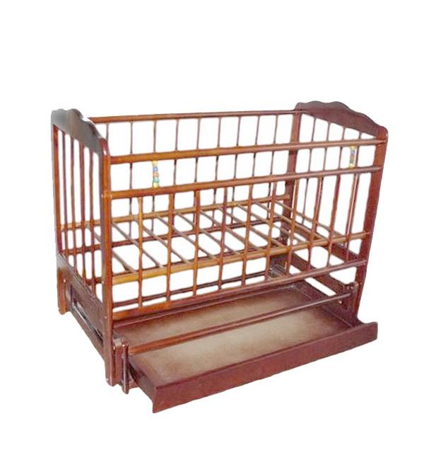 Кровать-качалка Женечка-6, цвет: орех