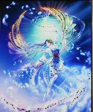Картина с кристаллами Swarovski Вихрь