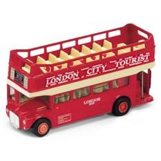 Модель автобуса London Bus открытый от Welly