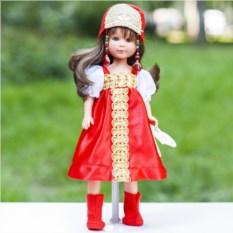 Кукла ASI Селия в русском наряде №1