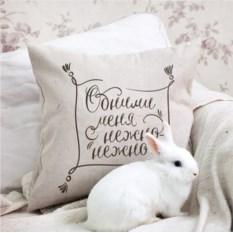 Льняная подушка Linen
