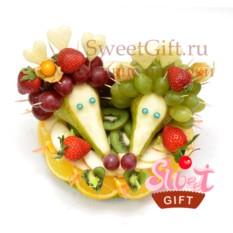Композиция из фруктов Фруктовые Ёжики