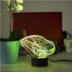 3D светильник Автомобиль