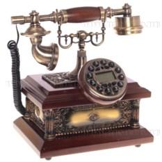 Декоративное изделие Телефон с круглым циферблатом