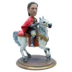 Статуэтка мужчины по фото Принц на белом коне