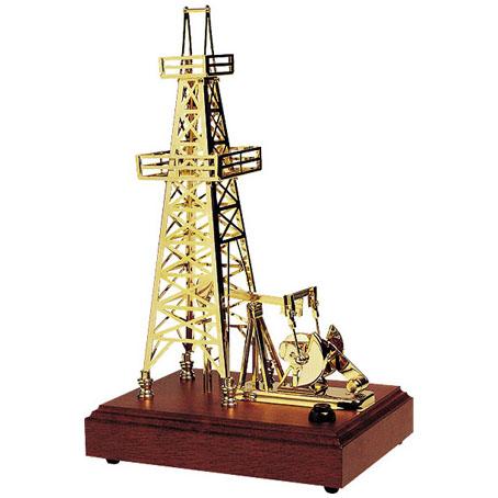 Сувенир музыкальный «Нефтяная вышка»