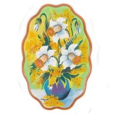 Насыпное панно Нарциссы (29х19 см)