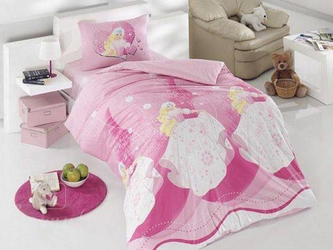 Детское постельное белье Элегант Ece, розовое