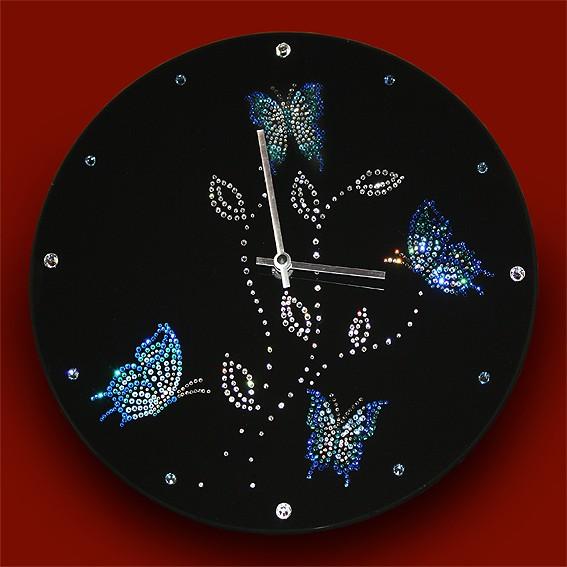 Часы с кристаллами Swarovski Дыхание ночи
