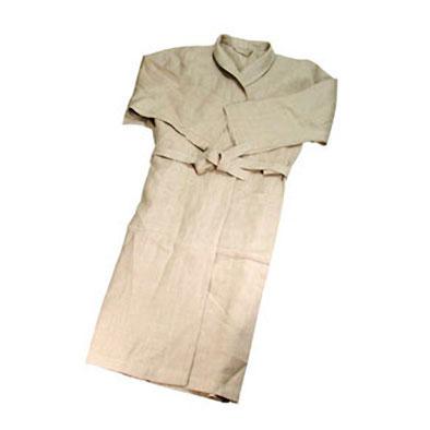 Льняной халат