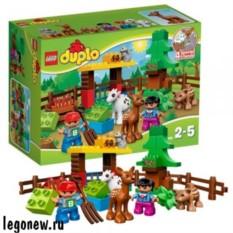 Конструктор Лего Дупло Лесные животные