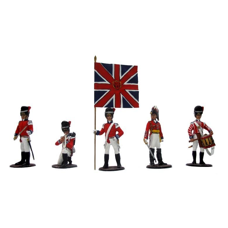 Набор солдатиков «Англичане при Ватерлоо»