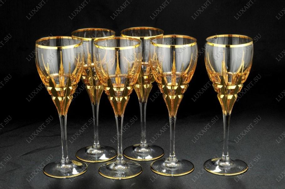 Набор из 6 хрустальных бокалов для вина Same Cristallerie