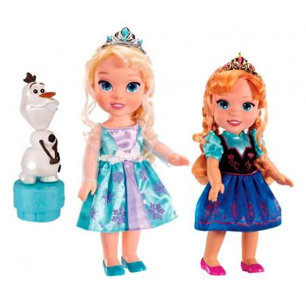 Игровой набор 2 куклы Олаф Холодное Сердце Disney Princess