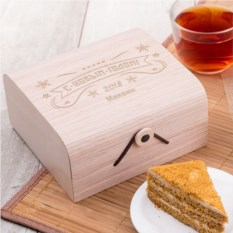 Подарочный набор мёда С Новым годом!