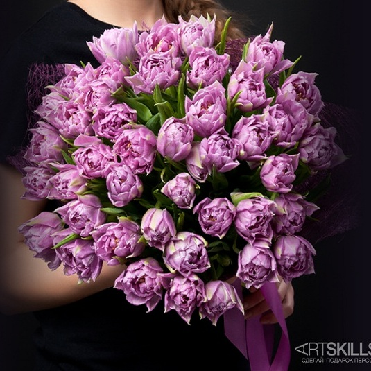 Букет тюльпанов Особенный