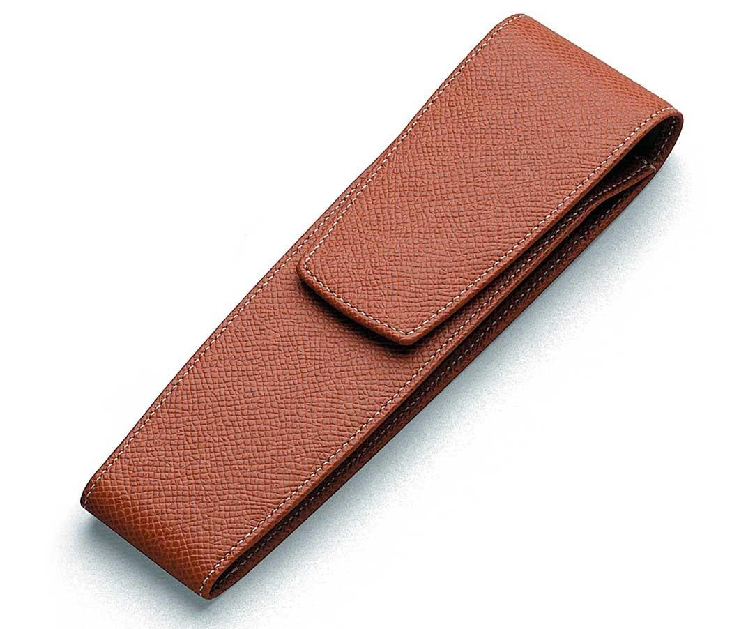Кожаный футляр для 2-х ручек Graf von Faber-Castell
