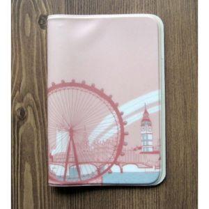 Обложка для паспорта Merci la vie - London