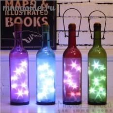 Светодиодный декоративный ночник Звездная бутылка