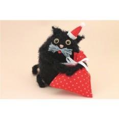 Новогодняя игрушка «Кот Мороз»