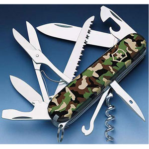 Солдатский нож с лезвием 111 мм  VICTORINOX