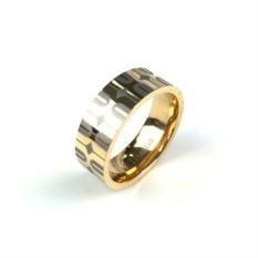 Титановое кольцо Respect Steel