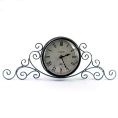 Настольные серые часы
