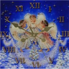 Часы с кристаллами Сваровски Рождественские ангелы
