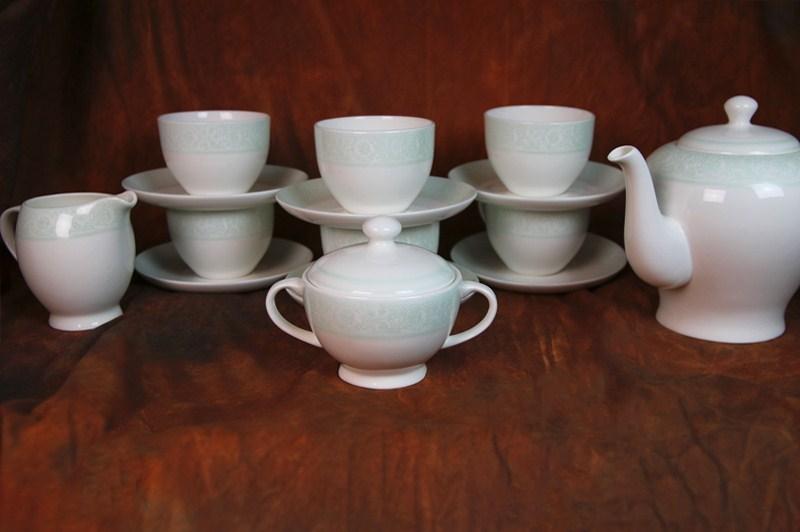 Чайный сервиз Дионис-Аквамарин на 6 персон